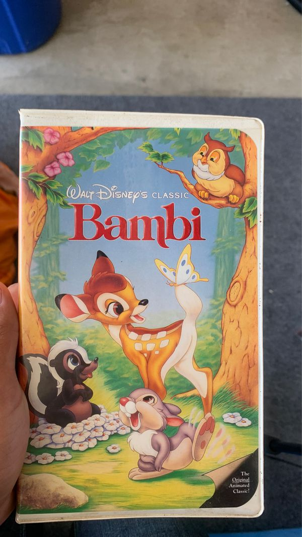 Bambi VHS mint condition
