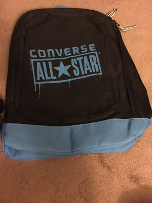 Converse All Star Backpack (black and blue) new without tag for Sale in San Gabriel, CA
