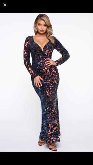 Fashion Nova Sequin Dress Size Large for Sale in Castro Valley, CA