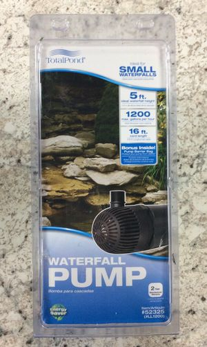 TOTALPOND 1,200 GPH Waterfall Pump - Brand New for Sale in Dallas, TX