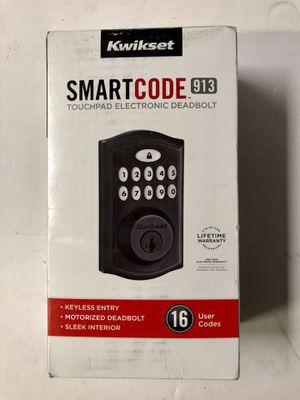 Kwikset Smartcode 913 Venetian bronze single cylinder electronic Smartkey for Sale in Garden Grove, CA