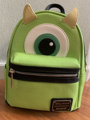 Disney Pixar Monsters Inc. Mike Mini Backpack By Loungefly for Sale in Santa Ana, CA