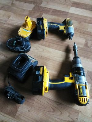 18 volt Inpact drill & hammer drill for Sale in Eugene, OR