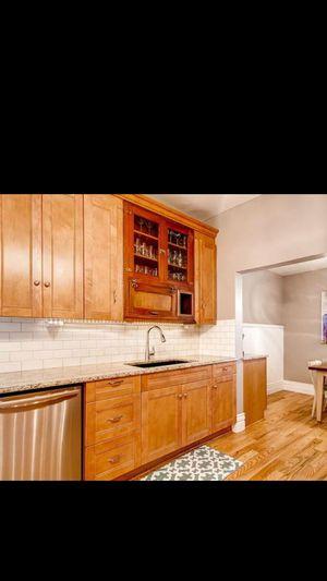 Cabinet: antique, hanging cupboard for Sale in Denver, CO