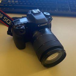 Cannon 80D Camera DSLR for Sale in Dallas,  TX