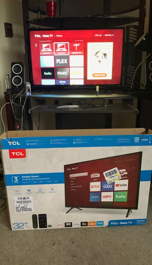 "TCL 32"" Class HD (720P) Roku Smart LED TV (32S321) for Sale in Itasca, IL"