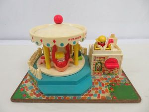 Vintage Fisher Price Little People Merry Go Round for Sale in Annandale, VA