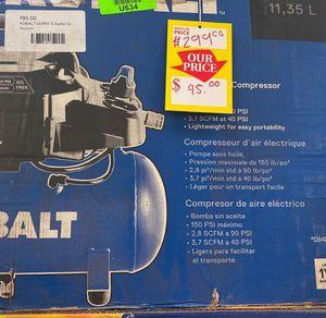 KOBALT LK3197 3-gallon Electric Air Compressor 😀😀😀 BTW for Sale in Dallas, TX