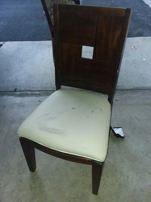 6 used wooden chairs for Sale in Rancho Santa Margarita, CA