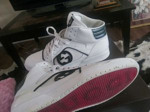 Red bottom Gucci shoes size 12 for Sale in Nashville, TN