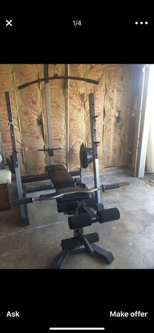 Nautilus home gym (weights not included ) for Sale in Crofton, MD