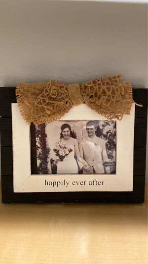Wedding Picture Frame $5 for Sale in Seattle, WA