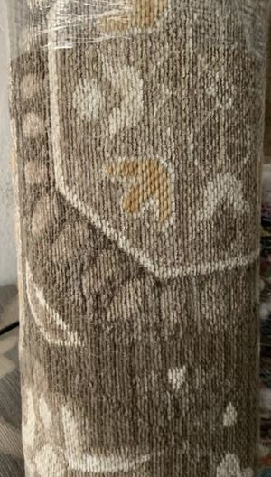 Tan floral woven area rug 5'x7' for Sale in Anaheim, CA