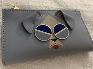 Kate Spade Blue Dog Bifold Wallet for Sale in Riverview, FL