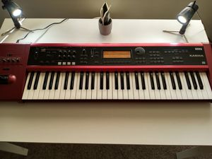 Korg Karma Synthesizer Workstation, Made in Japan with Soft Case, Shipping Available, made in Japan. for Sale in Loma Linda, CA
