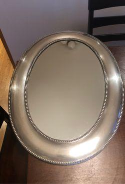 Silver Oval Bathroom Mirror for Sale in Seattle,  WA