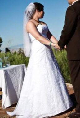 Size 10 David's Bridal Wedding Dress for Sale in Grand Junction, CO