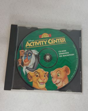 Disney's Lion King Activity Center (PC, 1995) Kids Game - FIRM PRICE for Sale in Leander, TX