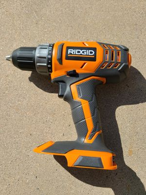 RIDGID 18-Volt Lithium-Ion Cordless 2-Speed 1/2 in. Compact Drill/Driver for Sale in Murrieta, CA