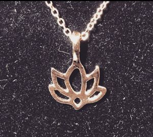 New Lotus Flower Necklace for Sale in Lake Forest, CA