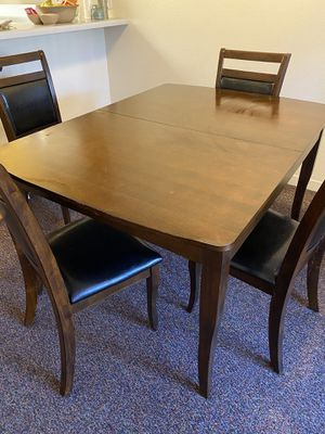 Table and four chairs for Sale in Irvine, CA