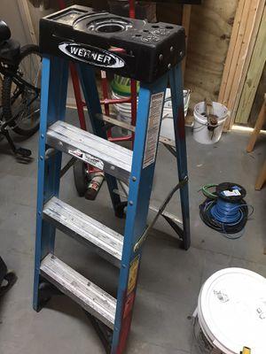 Almost new 4 ft ladder Werner for Sale in Stafford, VA