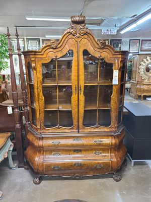 China Cabinet Antique 🌈 Another Time Around Furniture 2811 E. Bell Rd for Sale in Phoenix, AZ