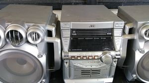 Stereo ,3 dis , tape deck subwoofers for Sale in Philadelphia, PA