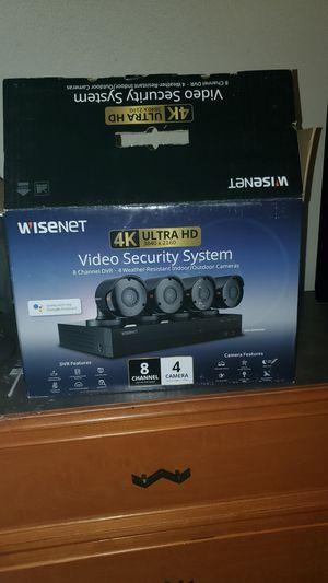 Wisenet 4k Ultra HD Indoor/Outdoor Cameras for Sale in Longview, TX