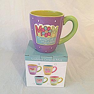 Raised MOM Acronym Mug (Purple) for Sale in Falls Church, VA