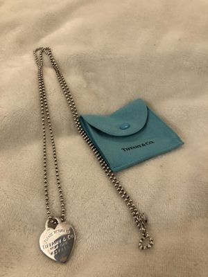 Tiffany & Co. Return to Tiffany Dog Tag XL Chain Necklace for Sale in Chatham Township, NJ