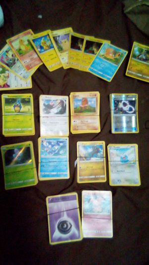 1995 2015 Pokemon collection 300 cards all aunthenic no games Google the cards on top almost$2500 cards for Sale in Houston, TX