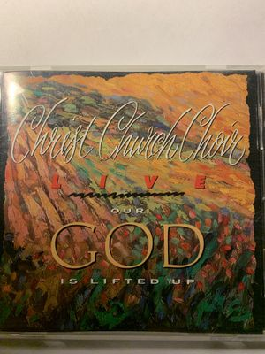 Christ Church Choir - Our God is lifted up cd for Sale in Highland, IL