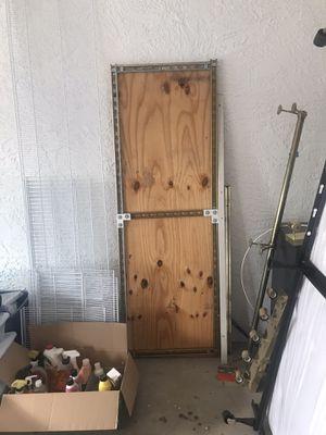 Garage overhead storage and Rubbermaid Storage shelving for Sale in Litchfield Park, AZ