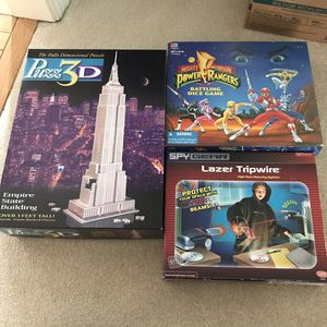 $6 for ALL board games and 3d puzzle for Sale in Burtonsville, MD