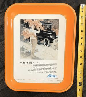Vintage Ford Car Tray Plate just $5 for Sale in Port St. Lucie, FL