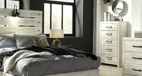 [SPECIAL] Cambeck Whitewash Youth Storage Platform Bedroom Set for Sale in Washington,  DC