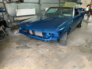 69 mustang convertible just fishing reel offer can get it they should be complete next week for Sale in Richmond, CA