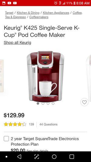 Kuerig coffee maker 2.0 black for Sale in Tampa, FL