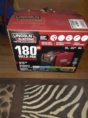 Lincoln mig welder for Sale in Oklahoma City, OK