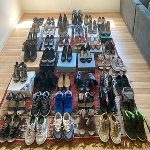Woman Designer Shoe Collection sizes 7.5-8.5 women for Sale in Portland, OR