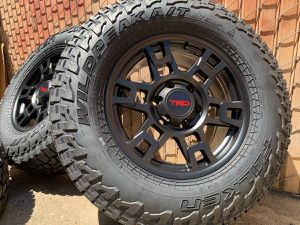 """17"""" TRD PRO Style Wheels Toyota Tacoma 4runner rims tires for Sale in Sacramento, CA"""