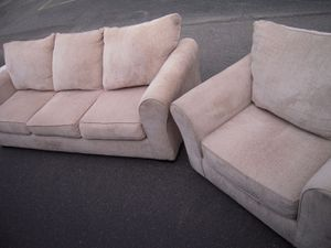 FABULOUS 9 Month Old Sofa/Couch and Chair! for Sale in Chesterfield, VA