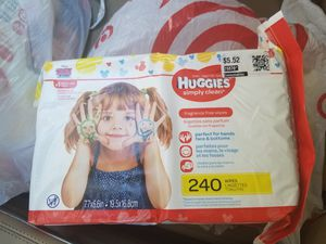 Huggies wipes 240count for Sale in Plano, TX