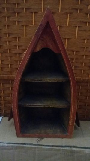 Wooden Boat Display Shelf for Sale in TEMPLE TERR, FL