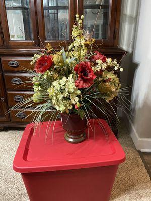 Fake flower arrangement for Sale in Westerville, OH