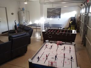 Man Cave Rod Hockey, Air Hockey, Foosball for Sale in Winchester, CA
