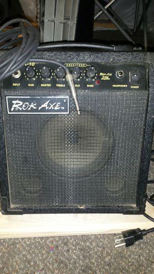 Rok axe guitar amp for Sale in Wichita, KS
