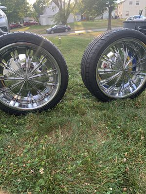 4 Brazen size 18 rims for sale for Sale in Mount Laurel Township, NJ