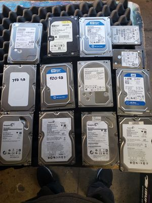 Lot 13 hard drives for Sale in Los Angeles, CA